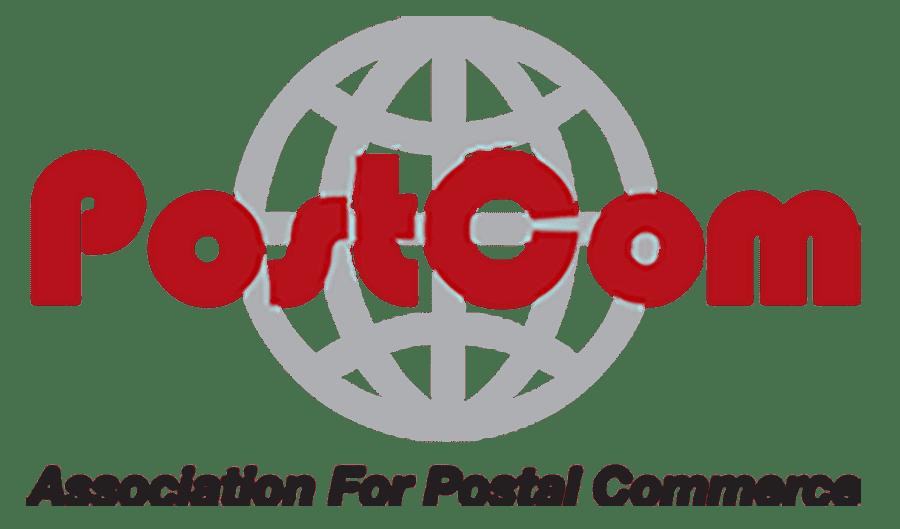 PostCom logotype.