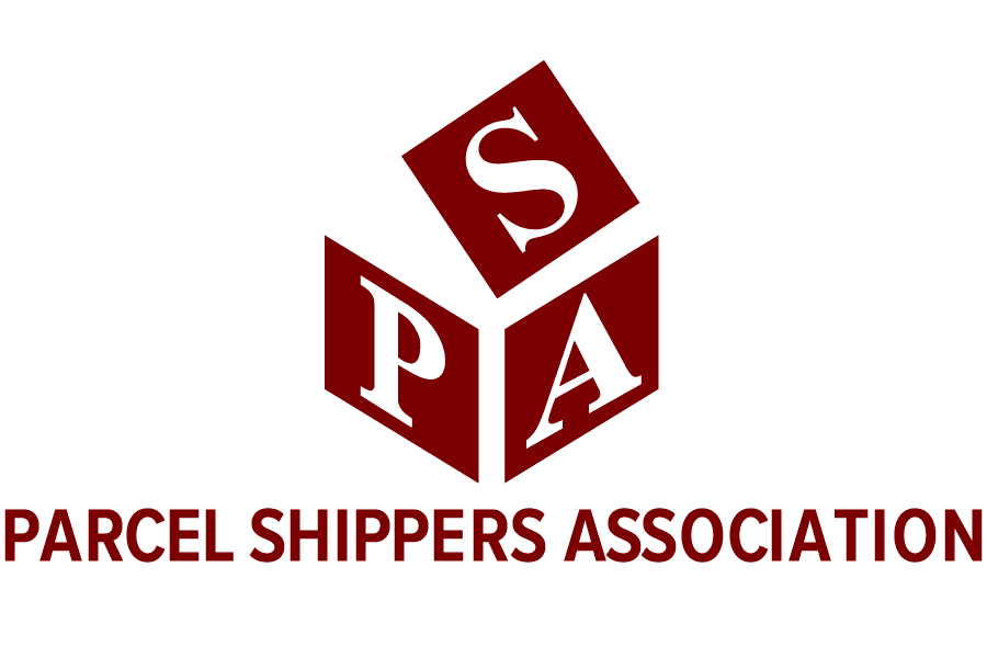 Parcel Shippers Association, logotype.