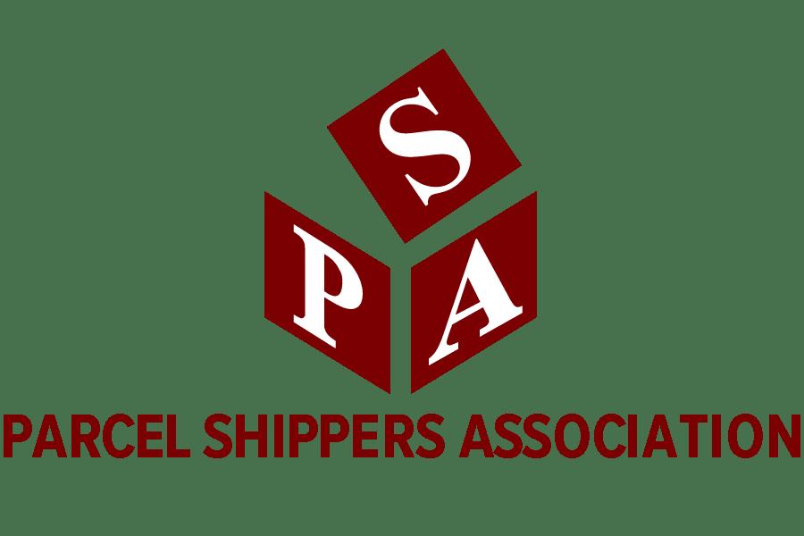 Parcel Shippers Association, logotype.